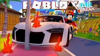 ROBLOX - JAIL BREAK UPDATE, SWORDS & BANK ROBBERY!!