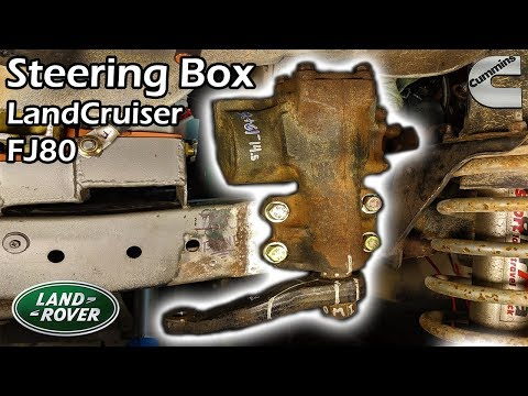 4BT Cummins Discovery #39 × Steering Gear Box / Land Cruiser FJ80 [Land Rover Build]