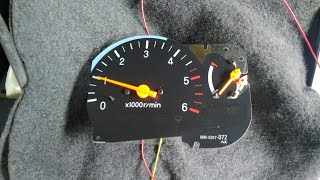 тахометр. после замены мотора. mitsubishi L200