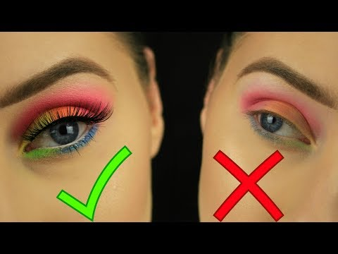How To: Make Your Eyeshadows POP! - Beginners Makeup - 동영상