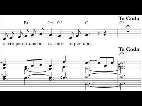 Alrededor de tu mesa francisco palazon partitura organo for Alrededor de tu mesa