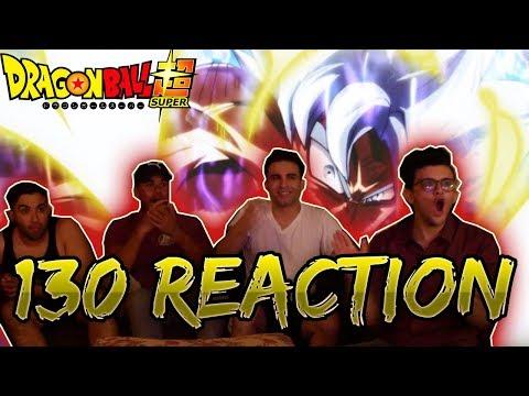 Dragon Ball Super Episode 130 Live Reaction GOKU VS JIREN! HYPE!!