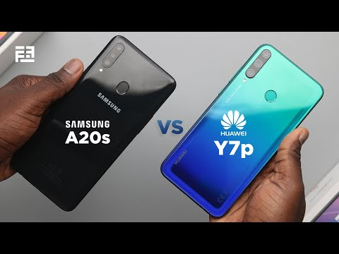 Huawei Y7p vs Samsung Galaxy A20s In-depth Comparison Review!