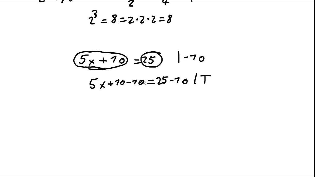 Mathe Tutorial Term, Bruch, Äquivalenzumformung