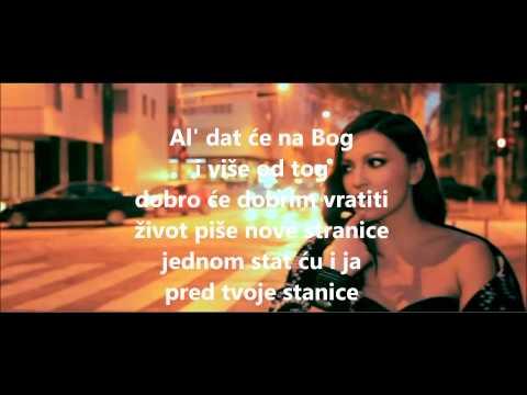 Nina Badric - Dat ce nam Bog ( karaoke )