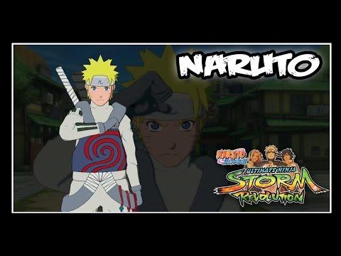 Naruto Shippuden: Ninja Storm Revolution - Jinchuuriki DLC Pack - NARUTO // Moveset