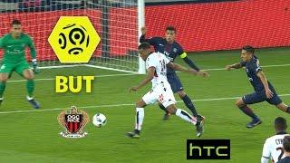 But Alassane PLEA (45' +3) / Paris Saint-Germain - OGC Nice (2-2) -  / 2016-17