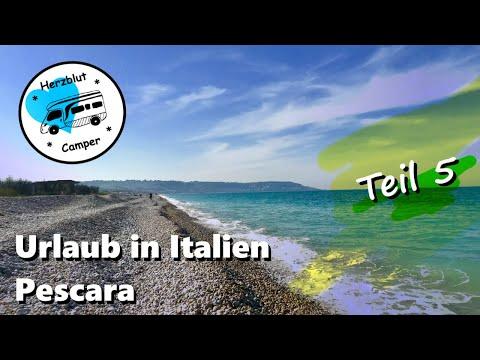 Mit Dem Wohnmobil In Italien - Am Strand Bei Pescara