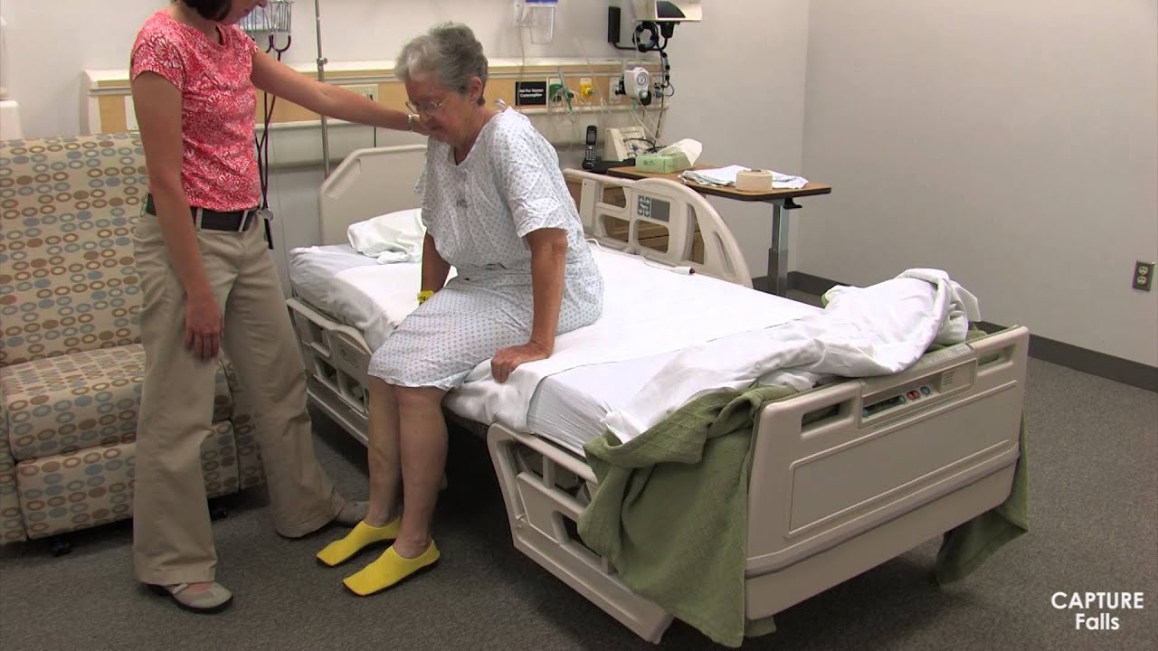 Stand Pivot Bed to Chair - No Assistive Device - YouTube