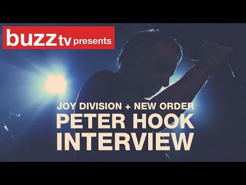 Peter Hook from Joy Division & New Order Interview