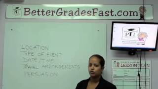 How to write a Letter of Invitation | Easy English lessons
