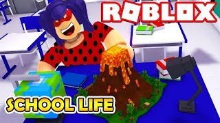 🐞 GAME of LIFE SCHOOL PERIOD with Ladybug 🐞 ENGLISH ROLBLOX ROBLOX SiMULATOR 🐞 Roleplay part #3