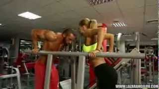 Repeat youtube video Lazar Angelov amp Yanita BeautyAndTheBeast Workout Tubidy IM