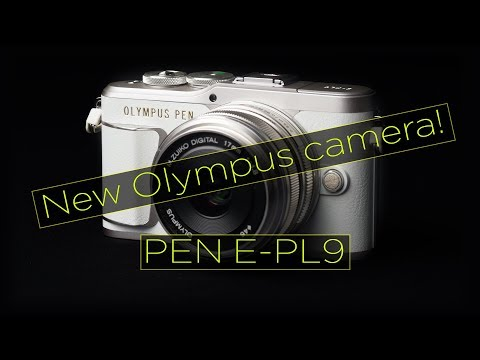 New camera from Olympus, the PEN E-PL9 - A quick look.
