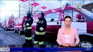 Смотреть видео Взрыв в трамвайном депо в Санкт-Петербурге онлайн