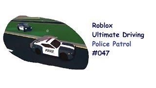 Roblox: Ultimate Driving | Police Patrol #047 | Unmöglich auszubremsen | [Huski/German]