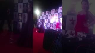 Mohena Singh of Yeh Rishta Kya Kehlata hai fame at Star Parivaar Awards 2017 | SpotboyE