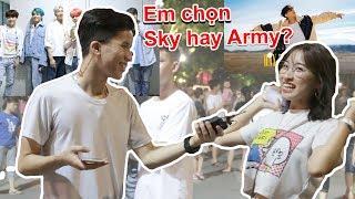 Hiep Hehe - BỨC XÚC B'RAY CHỬI BTS VÀ CÁCH XỬ LÝ CỦA ARMY?   bắt gặp sky ,hãy trao cho anh