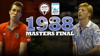 ON THIS DAY 30 YEARS AGO: Becker, Lendl and an epic Masters final