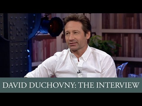 David Duchovny Full Interview - YouTube