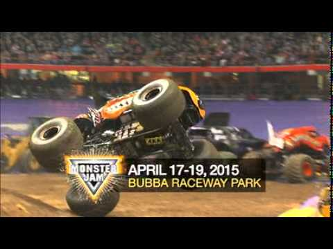 Bubba Raceway Park >> Monster Jam Ocala 2015 Commercial - YouTube