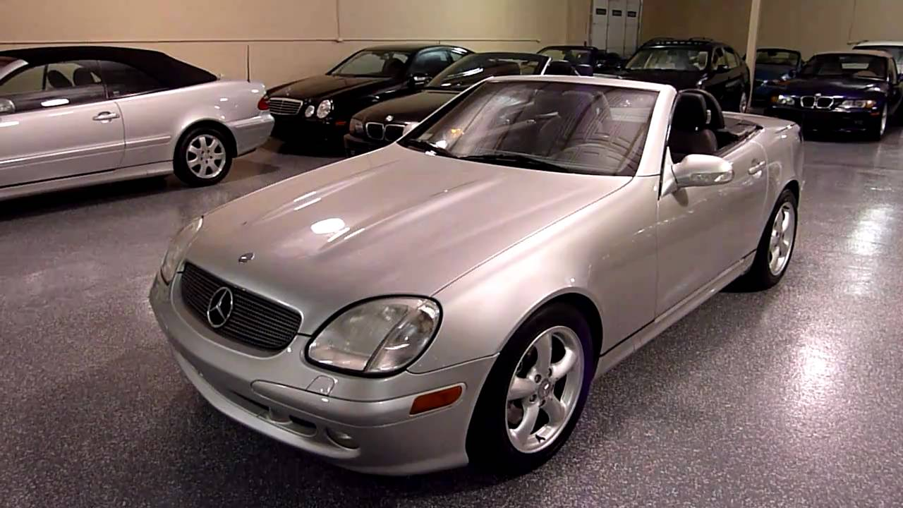 2001 mercedes benz slk320 2dr roadster 3 2l 2007 sold for 2001 mercedes benz slk320