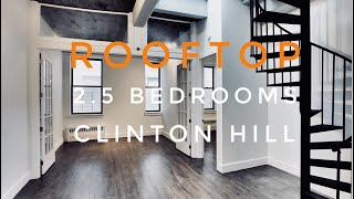2.5 Bedrooms Gem with Rooftop in Clinton Hill! Video Tour NYC Brooklyn