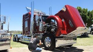 """KENWORTH W900 """"TIANGUISTENGO"""" En Evento Trokero Pulido Truck And Parts."""