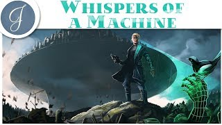 🔴 WHISPERS OF A MACHINE GAMEPLAY 🔴 Sci-Fi Noir Murder Mystery Game ~ 2019-04-17