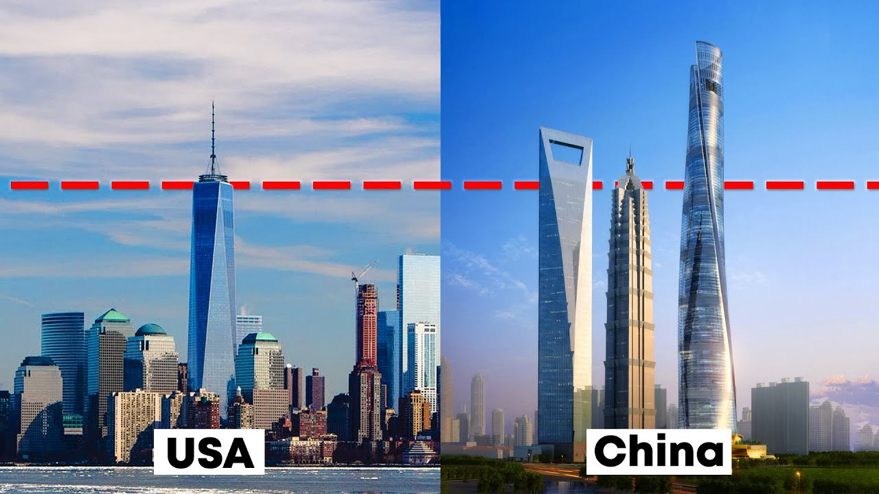 Skyscraper Comparison - USA vs. China