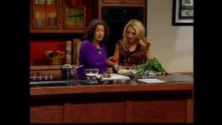 Making Quinoa And Shiitake Mushroom Pilaf With Locally Grown Organic Foods