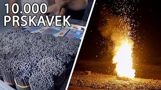 EXPERIMENT 10.000 PRSKAVEK - EXPLOZE!
