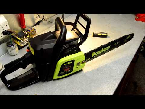 Chainsaw Won't Start - 10 Years in Storage - Poulan Woodshark - DIY Repair