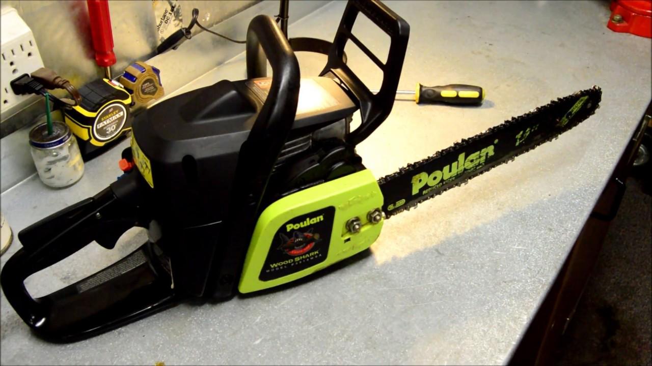 Chainsaw Won't Start - 10 Years in Storage - Poulan Woodshark - DIY Repair