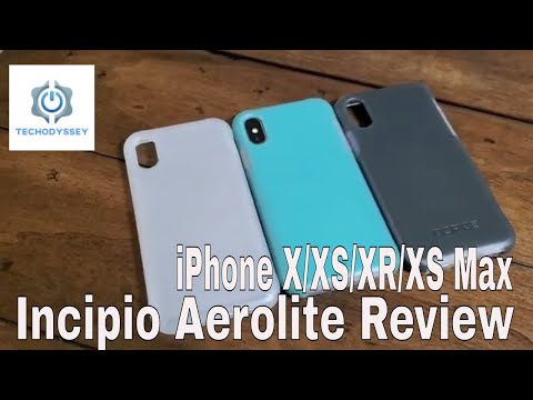 Incipio Aerolite Case Review - IPhone X/XS/XR/XS Max