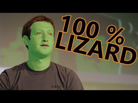 100% PROOF Mark Zuckerberg is a Lizard (CRINGE)