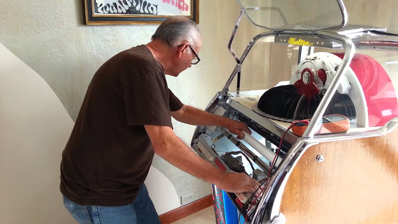 Wurlitzer 1800 Home Repairs