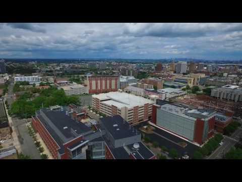 Newark New Jersey, USA Aerial