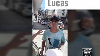 Uma moto resolve pro Lucas Gama