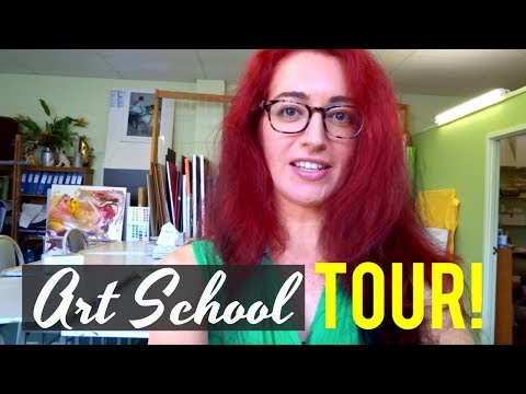 GOLD COAST ART SCHOOL TOUR + MY EASY VEGAN MEALS! A Day In My Life | Jess Bunty Vlog 12