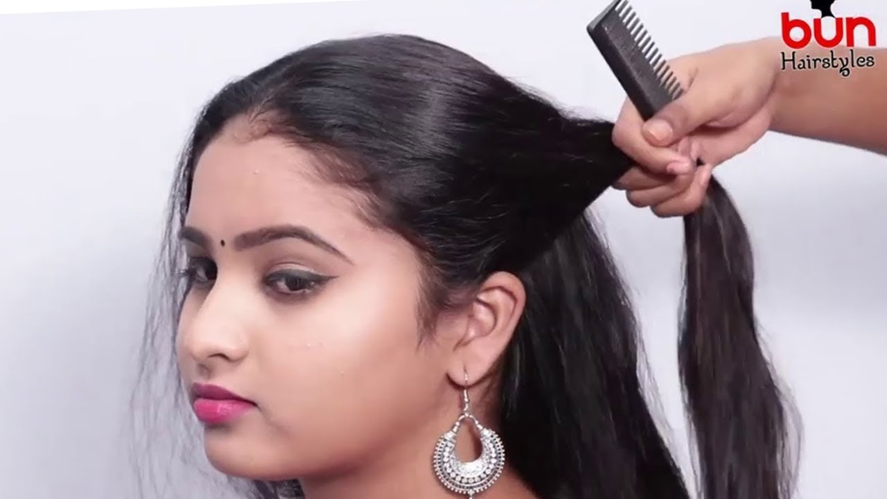 Easy Hairstyles| hairstyles for girls| Open hairstyles, Hairstyle for party | how to style long ...