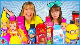Don't Choose the Wrong Shampoo Slime Challenge!!! Não escolha o Shanpoo errado !!!