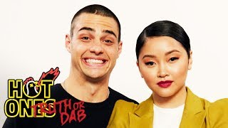 Noah Centineo and Lana Condor Play Truth or Dab | Hot Ones