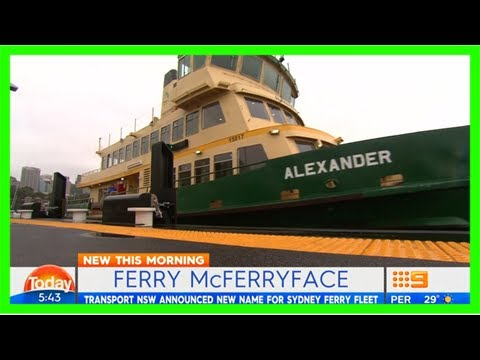 Staff will refuse to work on 'stupid' ferry mcferryface
