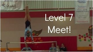 Level 7 Gymnastics Meet 2015