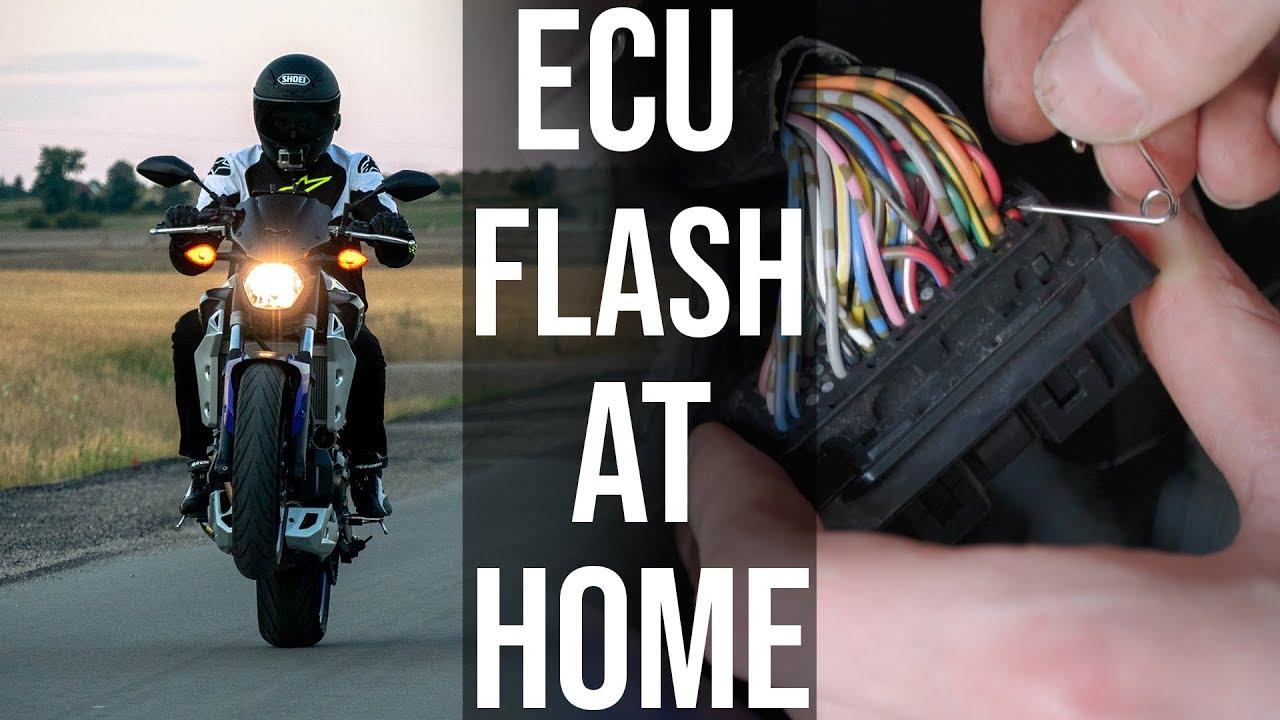 ECU Flashing MT-07 at Home (Tutorial/Impressions) [EP 04]