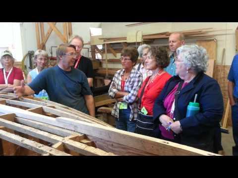 Giesler Boat Builders tour