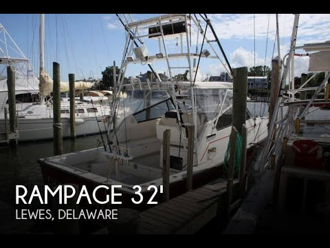 [UNAVAILABLE] Used 1990 Rampage 32 Sport Fisher in Lewes, Delaware
