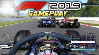 F1 2019 Exclusive Gameplay! Race with Max Verstappen at SPAIN! (F1 2019 Game Red Bull)