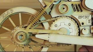 видео деревянный конструктор для детей